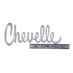 Trim Parts 4676 Reproduction Trunk Lid Emblem for 1970 Chevelle