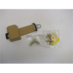 Garage Sale - Tan Seat Belt With Retractor, Male side only