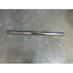 Garage Sale - 2.25 Inch Polished Stainless Steel Exhaust Tubing, 3 Foot Length