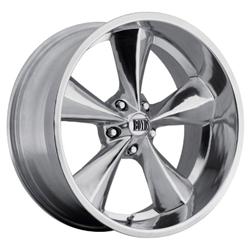 Boyds Wheels BC1-786145P Junkyard Dog 17x8 Polished Wheel, 5 on 4-3/4
