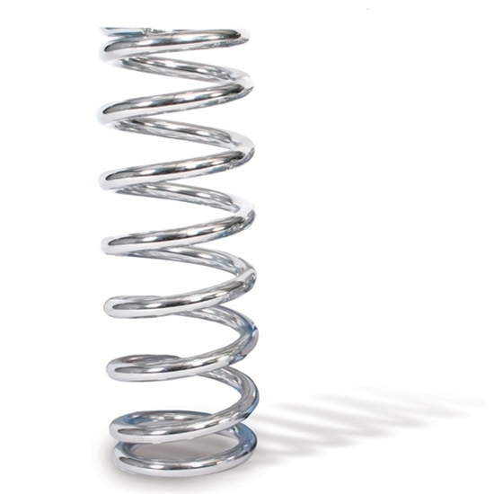 AFCO 28350-1CR 8 Inch Extreme Chrome Coil-Over Spring, 350 Rate