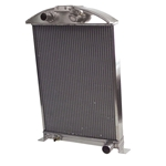 AFCO 80146-S-NA-N  1933-34 Ford Car Aluminum Radiator, Chevy Engine