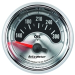 Auto Meter 1248 American Muscle Air-Core Oil Temperature Gauge