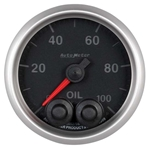Auto Meter 5652 Elite Digital Stepper Motor Oil Pressure Gauge