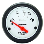 Auto Meter 5814 Phantom Air-Core Electric Fuel Level Gauge, 2-1/16 In.