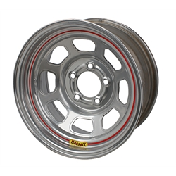 Bassett DOT Approved Racing 15 x 7 Wheel, 5 on 4-3/4 Inch, Without Beadlock
