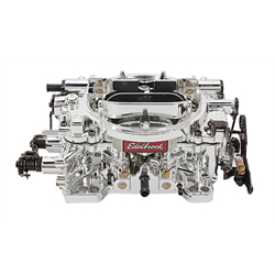 Edelbrock 18054 Endurashine AVS 650 CFM 4 Barrel Carburetor-Man. Choke