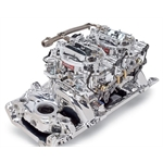 Edelbrock 20654 RPM Dual-Quad Manifold Carb Kit for Big Block Chevy w/ Oval Port