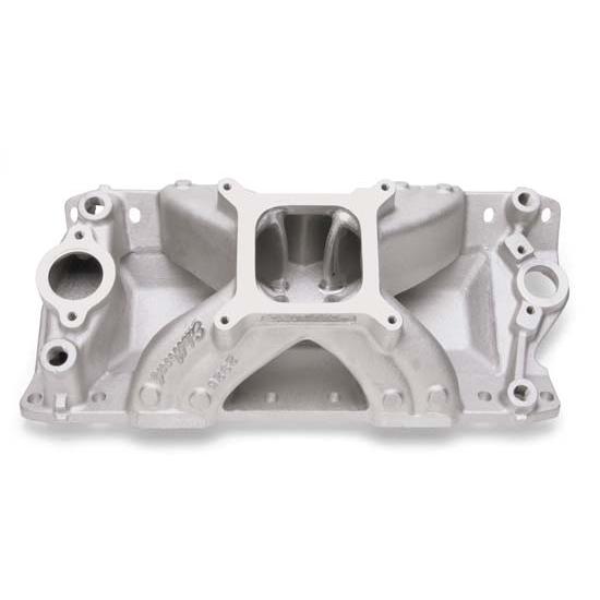 Edelbrock 2825 Super Victor CNC Intake Manifold, Chevy