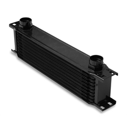 Earls 41000AERL 10 Row Oil Cooler Core, Black