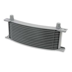 Earls 71608ERL Gray -8 AN 16 Row Oil Cooler Core, Narrow