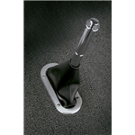 Lokar 70-BHBF Billet Hand Brake Boot Ring With Floor Mount Boot