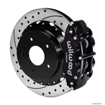 Wilwood 140-10471-D FNSL 4R Rear Brake Kit, 65-82 Corvette C2/C3