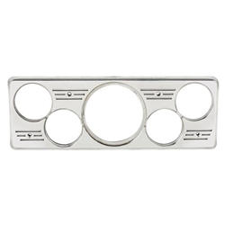 Speedway 9100539 1939 Chevy Car 5 Gauge Dash Panel, Polished