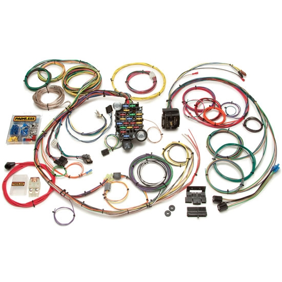 Painless 20101 1967-1968 Camaro/Firebird 24 Circuit Wiring Harness