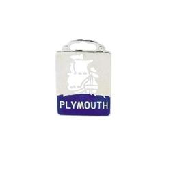 Pedal Car Plymouth Radiator Emblem