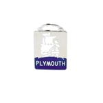 Pedal Car Plymouth Radiator Emblem