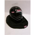 Garage Sale - Simpson RX Drag SA2010 Racing Helmet, Black, Size 6-3/4