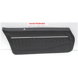 Garage Sale - Parts Unlimited 78FD70-P Standard Front Door Panels, 78-81 Camaro,Pair