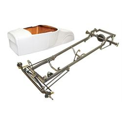 Deluxe 1927 T-Bucket Frame Kit w/ Standard Body, No Floor