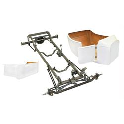Deluxe 1923 T-Bucket Frame Kit w/ Deluxe Body and Bed, No Floor