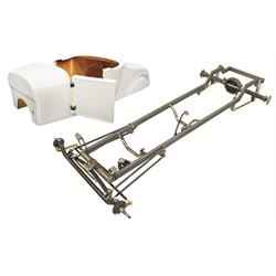 Deluxe 1927 T-Bucket Frame Kit w/ Deluxe Body, No Floor