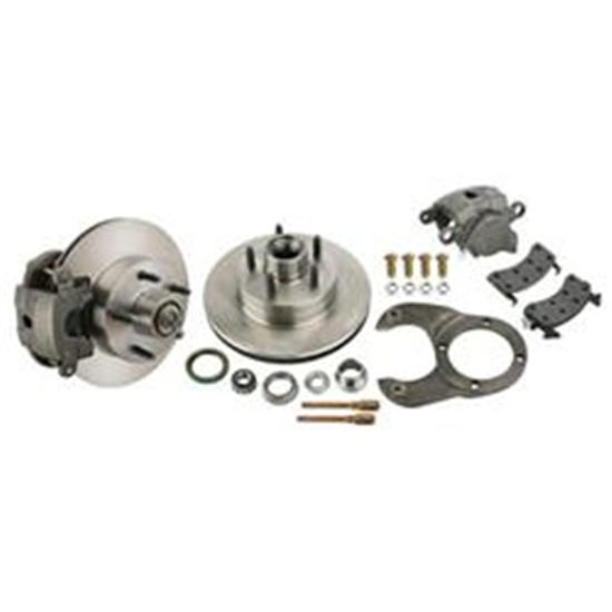 Economy Bolt-On Front/Rear Brake Kit for Ford Spindle