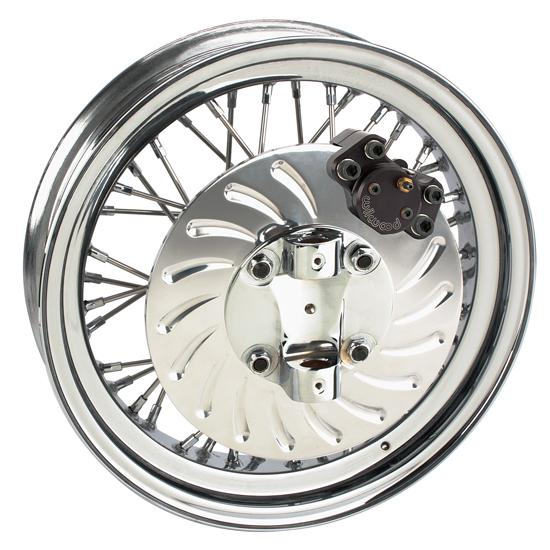 Wire Wheel Brake Kit For Ford Spindle