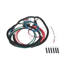 Afco 8000044401 Universal Single Cooling Fan Wire Harness 40 Amp Relay