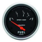 Auto Meter 3516 Sport-Comp Air-Core Electric Fuel Level Gauge, 2-5/8