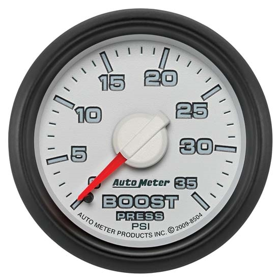 Auto Meter 8504 Gen 3 Dodge Factory Match Mechanical Boost Gauge