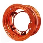 Aero 53-980550ORG 53 Series 15x8 Wheel, BL 5 on WIDE 5, 5 Inch BS IMCA