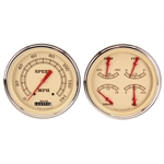 Classic Instruments CT54VT52 1954-1955 Chevy Truck Vintage Series Gauge Package