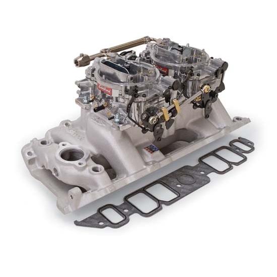 Edelbrock 2066 RPM Air-Gap Dual-Quad Intake Manifold