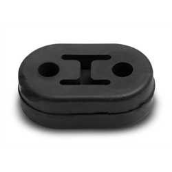 "Hooker 41164HKR 2-Hole Rubber Isolator, 1/2"" Inch, 10-Pack"