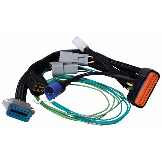 msd 7789 7789 wiring harness programmable 7 to power grid free shipping speedway motors