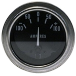 Stewart Warner 82313 Deluxe Ammeter Gauge-2-1/16 Inch, 100-0-100 Amps