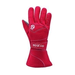 Sparco 00139F08RS Gloves - Flash 8 X-Small - Red