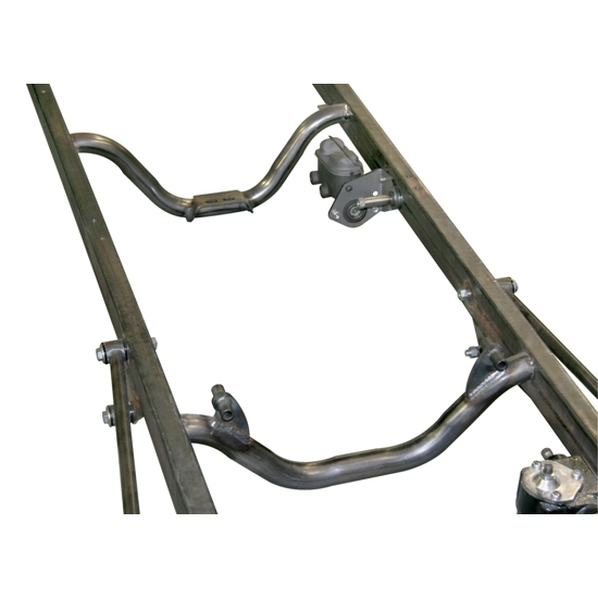 Small Block Chevy and TH350 Auto Trans Mount Option For T Frame Kit
