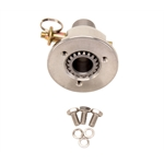 Pin-Style Quick Release Aluminum Steering Wheel Hub, 3/4In Steel Shaft