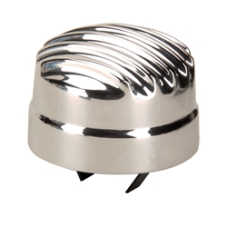 OTB Gear 6823 Finned Breather Cap for Oil Filler, Polished