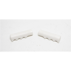 Garage Sale - White Pedal Car Hand Grips for 3/4 Inch Bar