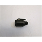 Garage Sale - MPD Racing Black Fuel Shut Off Valve For Fuel Filter, -12 AN