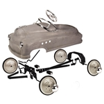 Garage Sale - Comet Pedal Car Assembly Kit, Plain Grey