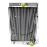 Garage Sale - Universal Aluminum Radiator, 26 Inch Tall, Passenger Side Outlet