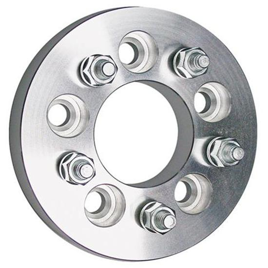 Trans-Dapt 3617 Billet Wheel Adapters, 5 on 5-1/2 to 5 on 4-3/4