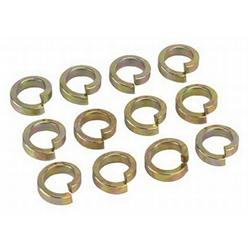 High Collar Steel Lock Washers, 3/8 Inch, Set/12