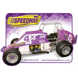 Speedway Sprint Car Mouse Pad