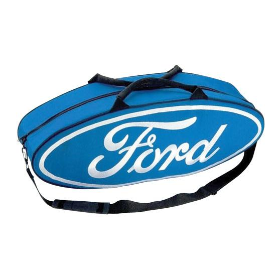 Garage Sale - GOBOXES F2000 Ford Zippered Canvas Go Bag, Blue