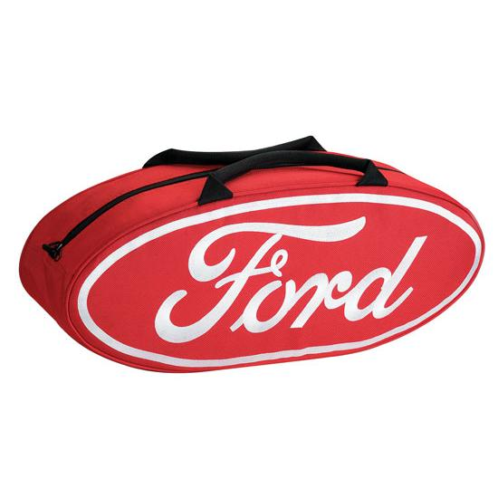 Garage Sale - GOBOXES F2000 RED Ford Zippered Canvas Go Bag, Red